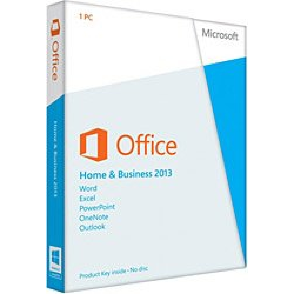 MS OFFICE 2013 HOME AND BUSINESS TR KUTU T5D-01781