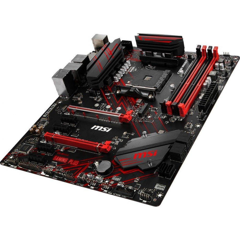 MSI B450 GAMING PLUS DDR4 DVI HDMI USB3.1 ATX AM4