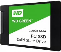 120GB WD GREEN 3D NAND 2.5'' 545/465MBs WDS120G2G0A SSD