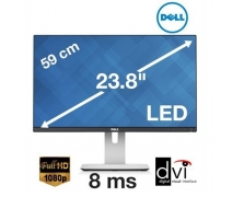"Dell UltraSharp U2414H 23.8"" 8ms (DVI+2xHDMI+Display+USB)"