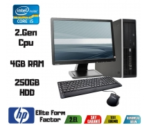 HP Elite Form Factor İ5 2.Nesil Cpu 4Gb Ram 250Gb Hdd Masaüstü