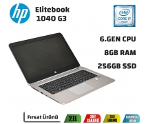 Hp Elitebook 1040 G3 Intel İ7-6600U 8GB 250GB 14,1'' Notebook