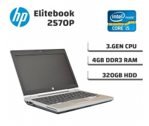 Hp Elitebook 2570P Intel İ5-3320M 4Gb Ram 320Gb Hdd Notebook
