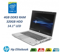 "Hp Elitebook 8470P İntel Core İ5-3320M 4GB RAM 500GB HDD 14.1"" Notebook"