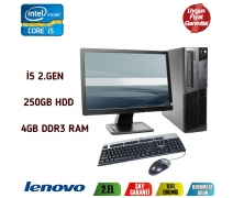 LENOVO THİNKCENTRE İ5 2.NESİL 3.10GHz 4GB DDR3 RAM 19'' MONİTÖR
