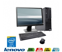 LENOVO THİNKCENTRE İ5 4.NESİL 4GB DDR3 RAM 500GB HDD 19'' MONİTR