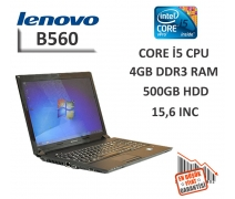 Lenovo B560 Intel Core İ5-540M 4GB RAM 250GB HDD 15,6'' Notebook