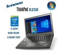 Lenovo Thinkpad X250 Intel Core İ5-5300U 8GB 128GB SSD Notebook