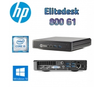 HP EliteDesk 800 G1 i5-4590T 8GB RAM 256GB SSD W10 PRO Mini PC