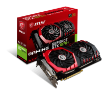 MSI GTX 1070 Ti GAMING 8GB 256 BIT GDDR5