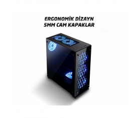 Zeiron Majesty İ5 3.46Ghz 8GB 120GB + 500GB 4GB E.K. Gaming Kasa