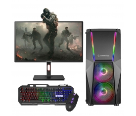 "Zeiron XForce G45 İ5-3470 16GB 240GB + 500GB 4GB GT730 24"" 144Hz Oyun Pc"