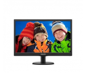 "Philips 203V5LSB26/62 19.5"" 5ms (Analog) Siyah LED Monitör"