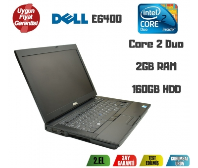 Dell Latitute E6400 Intel Core 2 Duo 2Gb Ram 160Gb Hdd Notebook