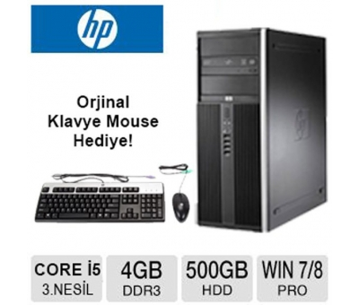 HP Compaq Elite 8300 Core i5 3470 3.2 GHz 4 GB Ram 500 Gb Hdd