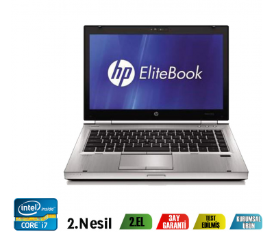 HP ELITEBOOK 8460P İntel Core i7-2540M 4GB 320GB HDD Notebook
