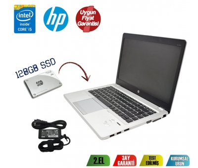 HP EliteBook Folio 9470M Intel Core i5-3427U 8GB RAM 128GB SSD