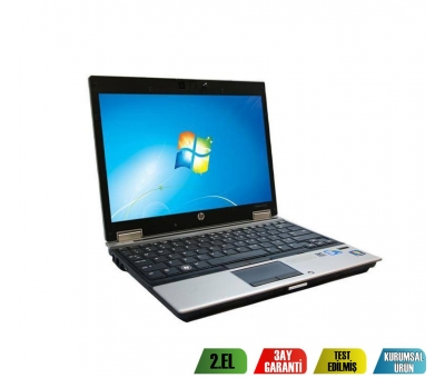 HP Elitebook 2540P İntel İ5 CPU 4GB RAM 250GB HDD Notebook
