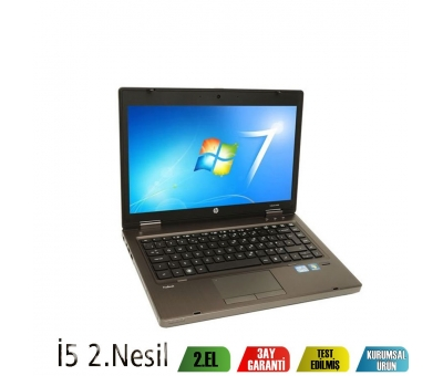 HP ProBook 6460b Business İntel İ5- 2410M İşlemci 4GB Ram 320GB Hdd Notebook