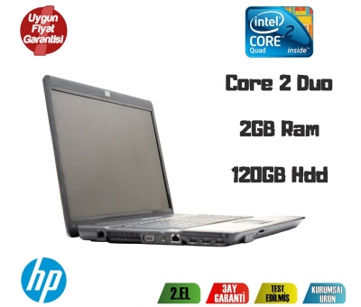 Hp 550 İntel Core 2 Duo 2Gb Ram 120Gb Hdd 15,6'' Notebook
