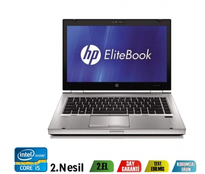 "Hp Elitebook 8460P i5-2540M 4GB 320GB 14.1"" Notebook"