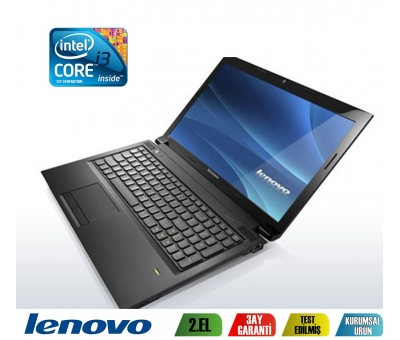 Lenovo Ideapad B560 İntel İ3-M380 2,53Ghz 4GB Ram 500GB Hdd Notebook