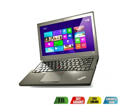 Lenovo Thinkpad X240 İntel Core İ5-4300V 8GB RAM 500GB HDD Notebook