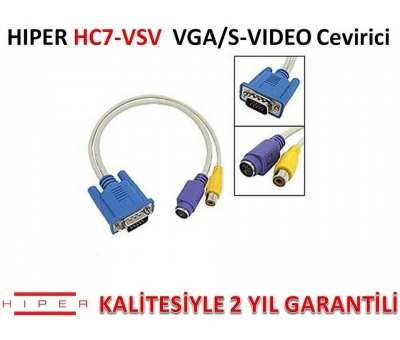 HIPER HC7-VSV VGA/S-VIDEO ÇEVİRİCİ
