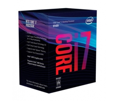 INTEL CORE i7-8700 3.20GHz 12MB 1151p